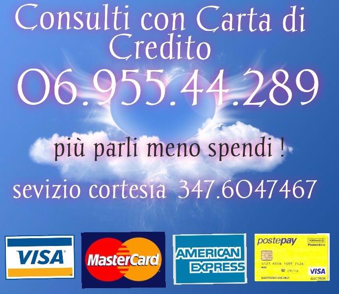 cartomanzia con carte di credito